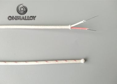China Type T Thermocouple Wire PTFE PFA FEP Insulated Wire Fiberglass Braid Class I factory