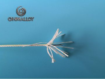 China 3/0.1mm Stranded High Temperature Resistance Wire With Fiberglass Braiding factory
