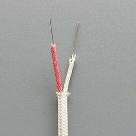 China Solid Conductor Thermocouple Cable K Type Fiberglass Compensate Cable factory