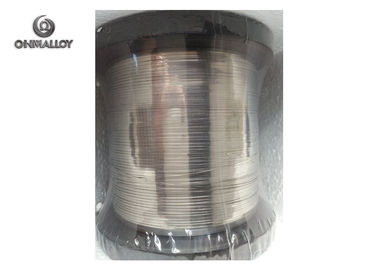 China 0.25mm * 3.0mm Copper Nickel Alloy Hecnum Tape On DIN 125 Reels Bright Surface factory