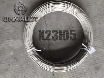China Fechral Alloy Heat Resistant Wire KH23YU5 5mm For Industrial Furnace Coil Shape factory