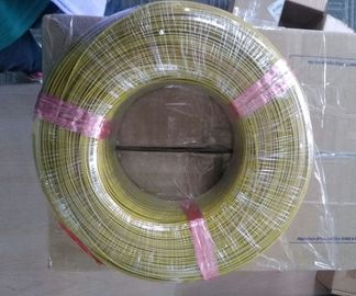 China 0.51mm * 2 Type K Thermocouple Cable PVC Coated Thin Wire With Solid Conductor factory