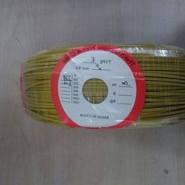 China K-CA-522 Type K Thermocouple Cable 30AWG FEP / PVC Coated Fiberglass Jacket factory