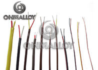 16AWG Solid Conductor High Temperature Thermocouple Extension Cable / Wire