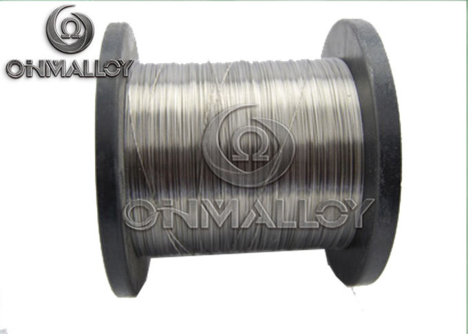 Silvery Copper Nickel Alloy Wire Copper Based Alloys 1mm 1.5mm Dia For Heating Cables