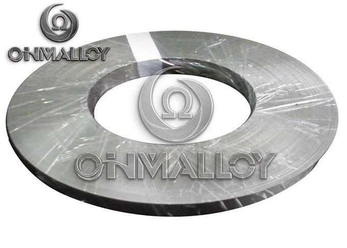 Cr20Ni80 Nichrome Alloy , 0.05mm×100mm Nichrome Strip For Heating Foil