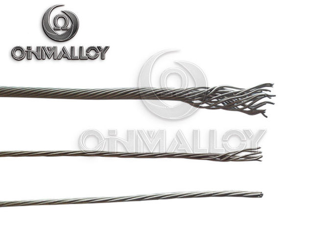 0.52mm~0.57mm,19 Strands NiCr 80/20 Nichrome thermo-electric alloys wire for heat-generation components