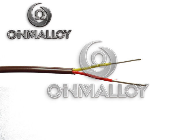 2x0.5mm² Cross Section NiCr/NiAl Alloy Wire Thermocouple Extension Cable Type K