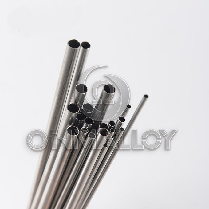 Bright High Temp Alloys Seamless Wall 0.5mm Inconel 600 / 625 Capillary Tube