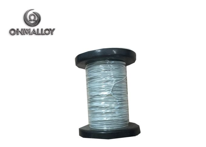 PTFE Flat PTFE Insulated Wire / High Temperature Resistance Nicr 80 20 Cable
