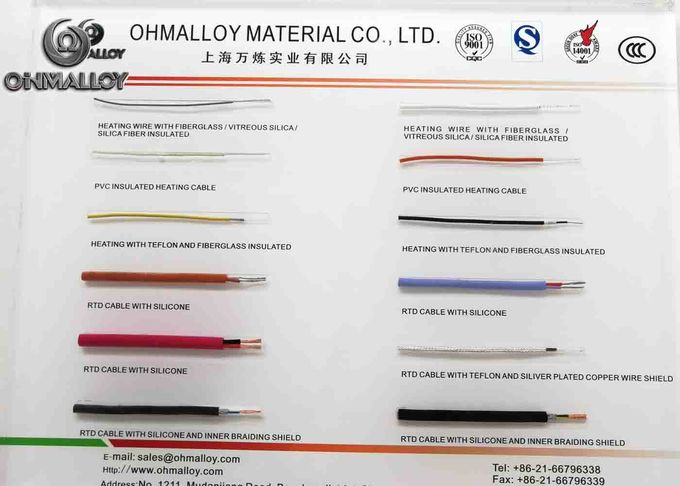 Type K Multi Strands Core Thermocouple Cable Accuracy Class I 7 / 0.2mm Conductor